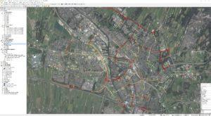 TelSys GIS QGIS intensiteit