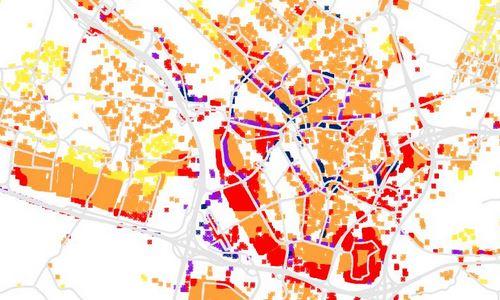 Roetkaart Utrecht